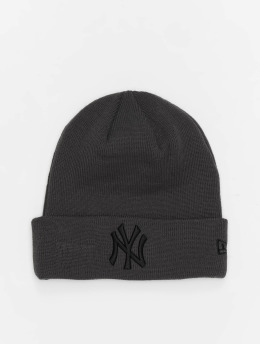 New Era Bonnet Colour Ess New York Yankees Cuff gris