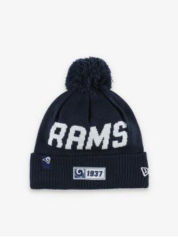 New Era Bonnet hiver NFL LA Rams Onfield Cold Weather Road bleu