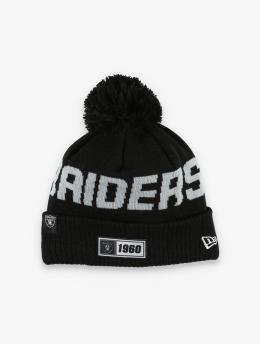 New Era Bonnet hiver NFL Oakland Raiders Onfield Cold Weather Road  noir