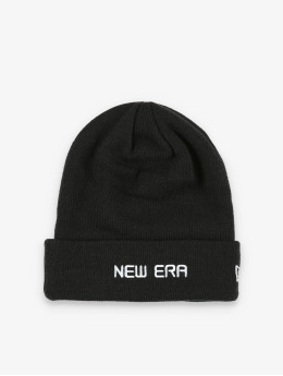 New Era Bonnet Essential Cuff Knit noir