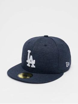 New Era Casquette Fitted MLB LA Dodgers Shadow Tech 59fifty bleu