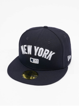 New Era Casquette Fitted MLB New York Yankees Team 59Fifty  bleu