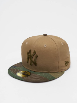 New Era Casquette Fitted MLB Camo Essential NY Yankees 59Fifty camouflage