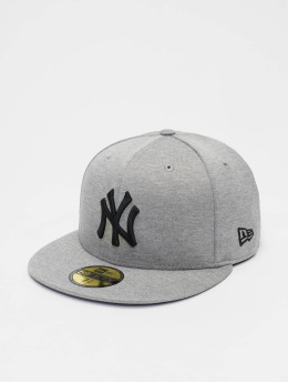 New Era Casquette Fitted MLB NY Yankees Shadow Tech 59fifty  gris