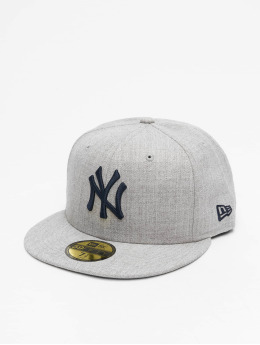 New Era Casquette Fitted MLB NY Yankees 59Fifty gris