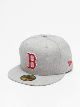New Era Casquette Fitted MLB Boston Red Sox 59Fifty gris