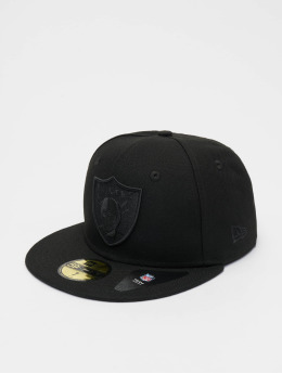 New Era Casquette Fitted NFL Oakland Raiders Poly Tone 59fifty noir