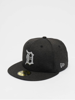 New Era Casquette Fitted MLB Detroit Tigers Shadow Tech 59fifty noir