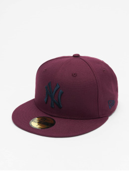 New Era Casquette Fitted MLB NY Yankees 59Fifty rouge