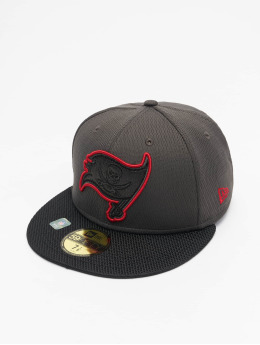New Era Casquette Fitted NFL Tampa Bay Buccaneers Sideline Road 59Fifty rouge