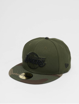 New Era Casquette Fitted LA Lakers vert