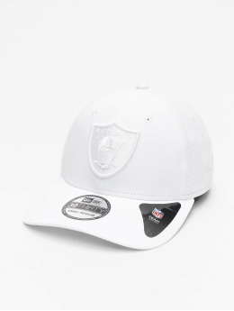 New Era Casquette Flex Fitted NFL Oakland Raiders 39Thirty blanc