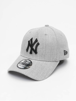 New Era Casquette Flex Fitted MLB NY Yankees Essential 39Thirty gris