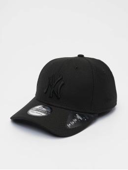 New Era Casquette Flex Fitted MLB New York Yankees Diamond Era 39thirty Flexfitted Cap noir
