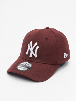 New Era Casquette Flex Fitted MLB NY Yankees Essential 39Thirty rouge