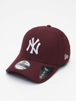New Era Casquette Flex Fitted MLB NY Yankees Diamond Era 39thirty rouge