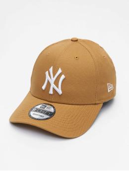 New Era Casquette Snapback & Strapback Colour Ess New York Yankees 9Forty beige