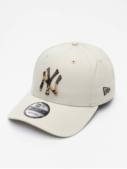 New Era Casquette Snapback & Strapback MLB New York Yankees Infill 9Forty beige
