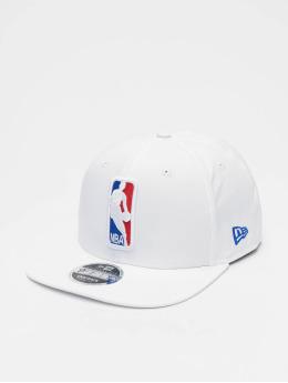 New Era Casquette Snapback & Strapback NBA Featherweight Logoman 9fifty Original Fit  blanc
