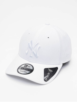 New Era Casquette Snapback & Strapback MLB NY Yankees Diamond Era 9forty blanc