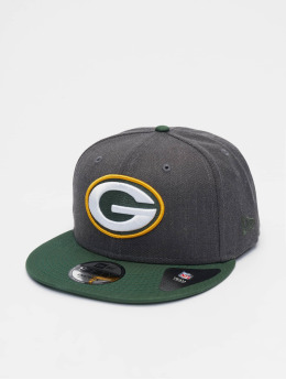 New Era Casquette Snapback & Strapback NFL Heather Greenbay Packers 9Fifty gris