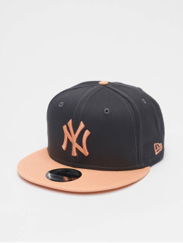 New Era Casquette Snapback & Strapback MLB New York Yankees League Essential 9fifty gris
