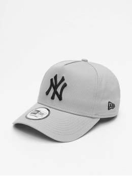 New Era Casquette Snapback & Strapback MLB NY Yankees League Essential A Frame gris
