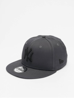 New Era Casquette Snapback & Strapback MLB NY Yankees League Essential 9Fifty gris