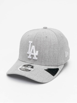 New Era Casquette Snapback & Strapback MLB LA Dodgers Heather Base 9Fifty gris