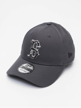 New Era Casquette Snapback & Strapback MLB Boston Red Sox Infill 9Forty  gris