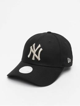 New Era Casquette Snapback & Strapback MLB NY Yankees Metallic 9Forty  noir