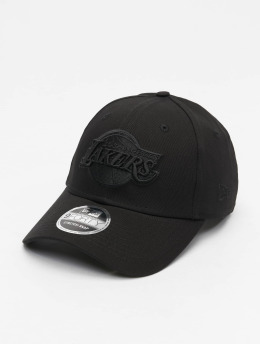 New Era Casquette Snapback & Strapback NBA Los Angeles Lakers Black On Black 9Forty noir