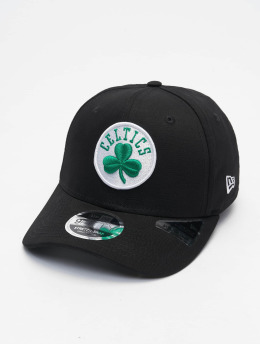 New Era Casquette Snapback & Strapback 9fifty Boston Celtics Stretch  noir
