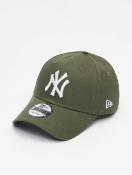 New Era Casquette Snapback & Strapback MLB League Essential NY Yankees 9Forty olive