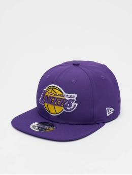 New Era Casquette Snapback & Strapback NBA LA Lakers Featherweight 9fifty Original Fit  pourpre