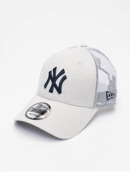New Era Casquette Trucker mesh MLB New York Yankees Home Field 9Forty beige