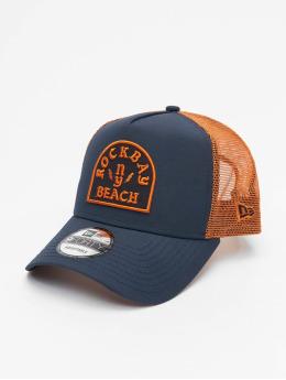 New Era Casquette Trucker mesh Rockbay Beach bleu