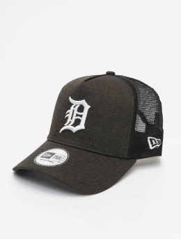 New Era Casquette Trucker mesh MLB Detroit Tigers Shadow Tech AF noir