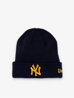 New Era Czapki MLB  NY Yankees League Essential Cuff Knit niebieski