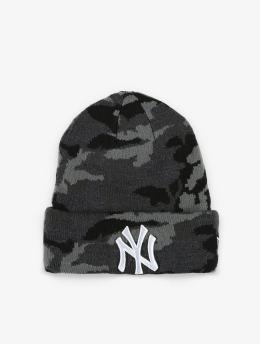 New Era Czapki MLB NY Yankees Essential Camo Knit szary