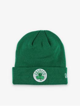 New Era Czapki NBA Boston Celtics Team Cuff Knit zielony