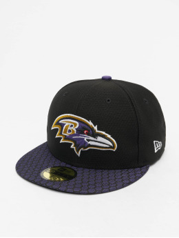 New Era Fitted Cap NFL Baltimore Ravens On Field Draft NFL17 59Fifty  èierna