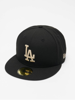 New Era Fitted Cap MLB Los Angeles Dodgers League Essential 59Fifty èierna