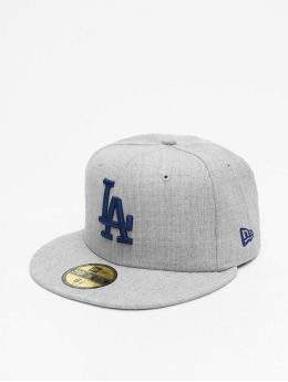 New Era Fitted Cap MLB LA Dodgers 59Fifty šedá
