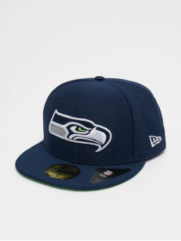 New Era Fitted Cap NFL Seattle Seahawks Hex Era 59fifty blau