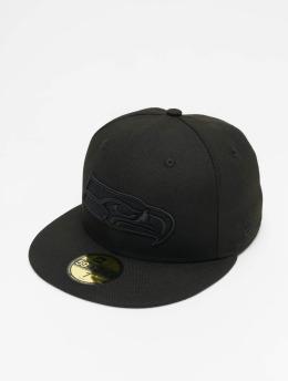 New Era Fitted Cap NFL Seattle Seahawks 59Fifty czarny