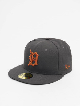New Era Fitted Cap MLB Detroit Tigers League Essential 59Fifty grau