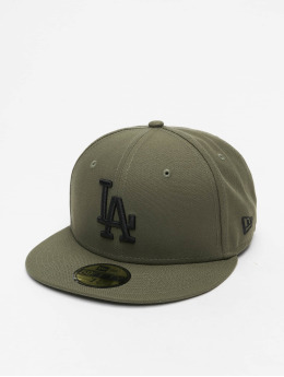 New Era Fitted Cap MLB LA Dodgers Essential 59Fifty grün
