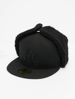 New Era Fitted Cap MLB NY Yankees League Esential Dogear nero