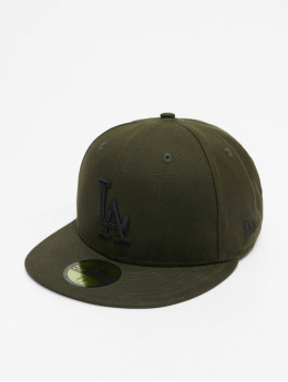 New Era Fitted Cap MLB LA Dodgers Utility 59Fifty olijfgroen